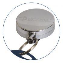 Detectable Retractable Badge Reels (Pack of 4)