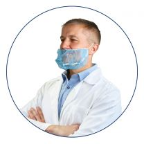 Detectable Non-Woven Beard Snoods (Pack of 500)